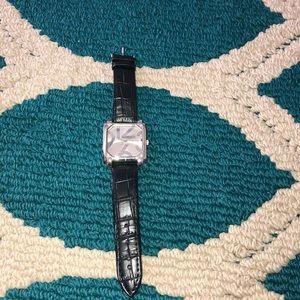 COPY - NWOT Maurice's black strap watch